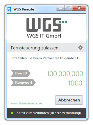 WGS Remote